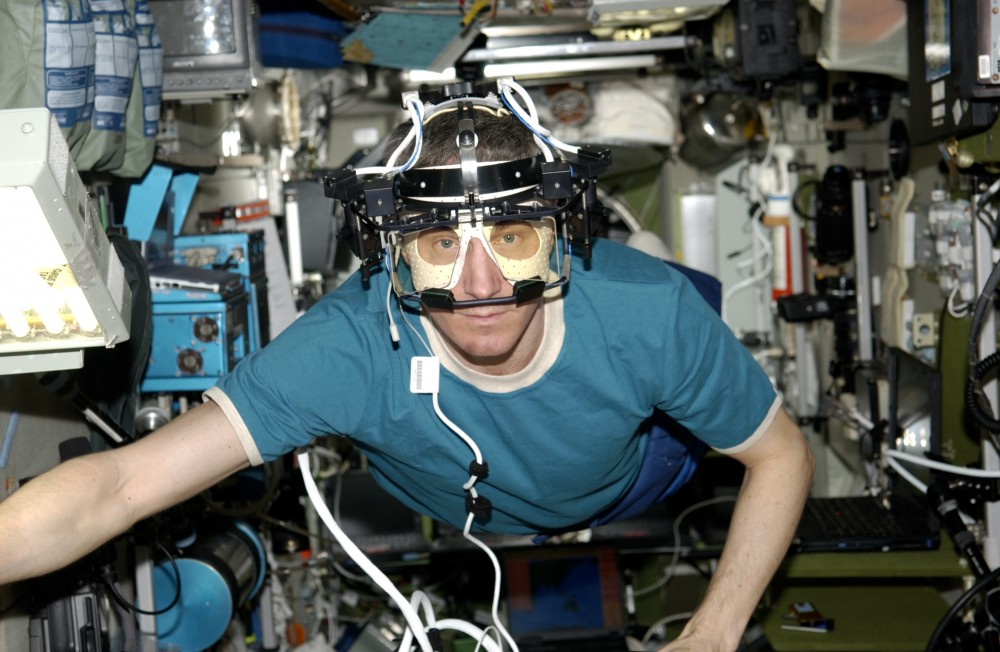 Eye Tracker in Space.